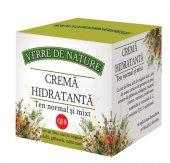 Crema hidratanta ten normal si mixt cu unt de Shea 50 ml